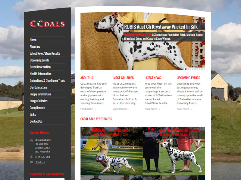 CCDalmatians Website