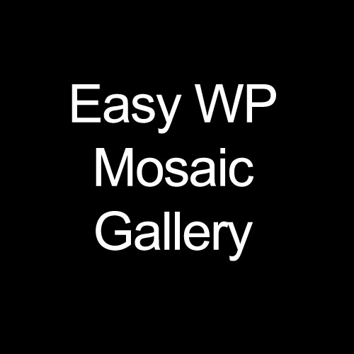 Easy WP Mosaic Gallery