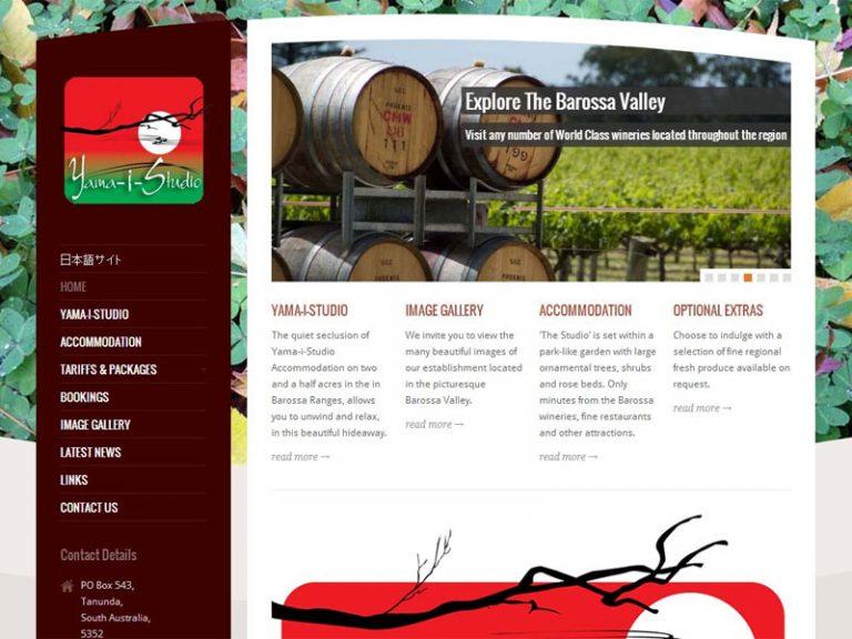 Yama-i-Studio - WordPress website